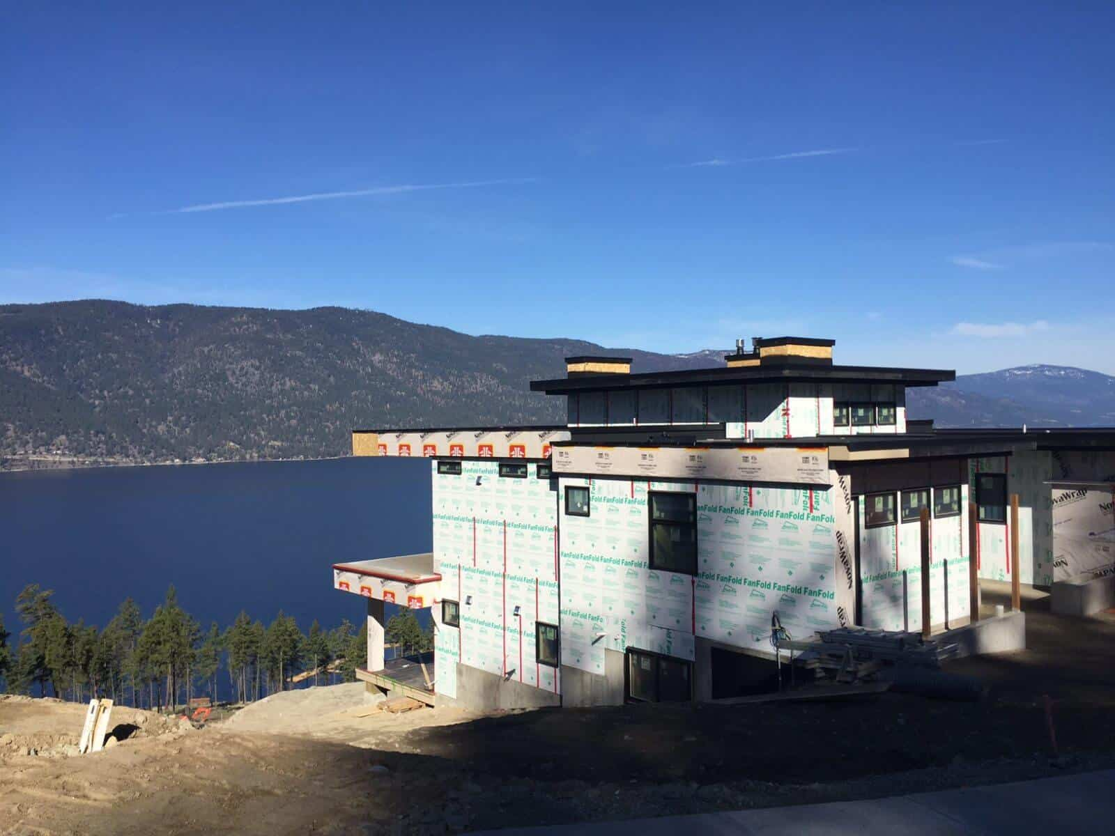 Building a home in the okanagan part 2 mckinley beach lots for Steps to building a new home