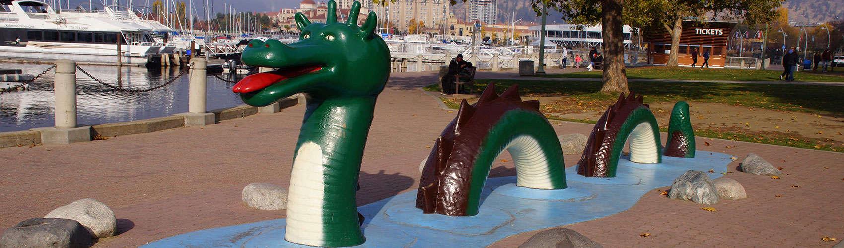 Ogopogo-Statue-Kerry-Park-Kelowna